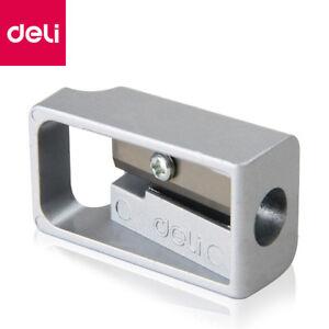 deli-Metal-Zinc-alloy-Pencil-Sharpener-Home-School-Office-Sharpener-Stationery