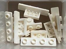 10x LEGO 1x2-2x2 Light Bluish Grey Bracket 6009014 6117967 Brick 92411 Salee
