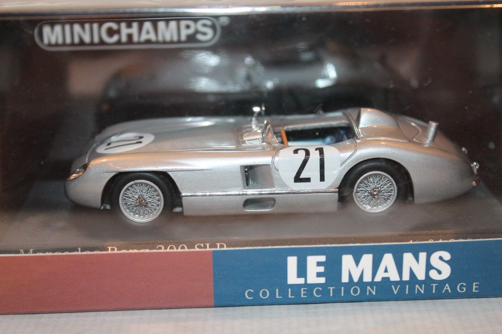 MINICHAMPS  MERCEDES-BENZ 300 SLR  1 43    OVP  KLING   SIMON  LE MANS 1955 3e8232