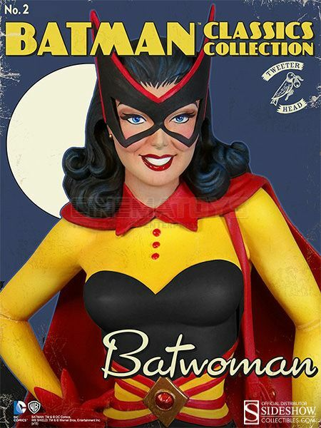 Batman Classic Classic Classic Batwoman Kathy Kane Maquette By Tweeterhead Sideshow Statue Rare d83a89