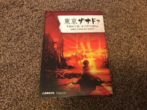 Art Book JAPAN Nihon Falcom Tokyo Xanadu Official Visual Collection