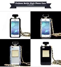 Parfum Flasche Schutz Cover Bumper Hülle Case Tasche Kette für Iphone 5/5S & Box