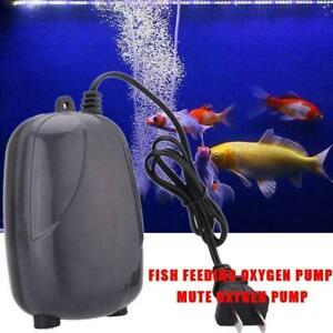 220v Aquarium Air Pump Fish Tank Marine Single Twin Accessories Outlet Uk X2x3 Ebay