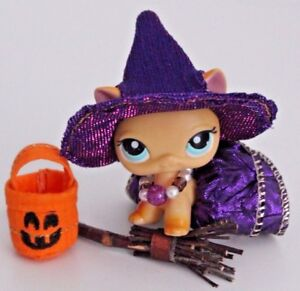 image is loading lps accessories witch costume pumpkin halloween for littlest