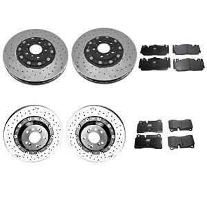 Genuine Front Rear Brake Kit Carbon Ceramic Disc Rotors Pads For BMW F80 F82 F83