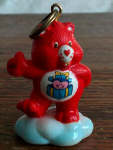 CUSTOM-Vintage-Care-Bear-1-5-034-ATTACHABLE-Keychain-GREAT-GIVING-Xmas-Never-Made