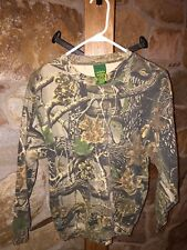 Cabela's YL Seclusion 3D Camouflage Sweatshirt With Matching Sweatpants