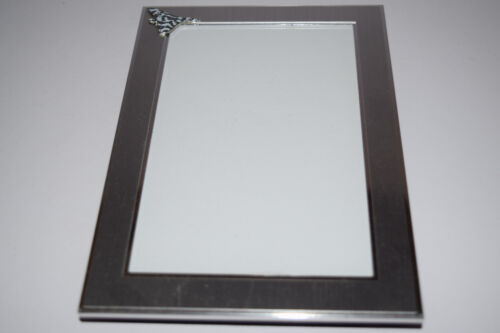 Vulcan Aeroplane Picture Frame Brushed Chrome Gift RAF Aviation Christmas Gift