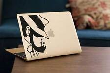 "STICKER DECAL JIGEN - MAC BOOK PRO AIR 11, 13, 15 17"" 石川五ェ  ルパン三世 MANGA LUPIN"