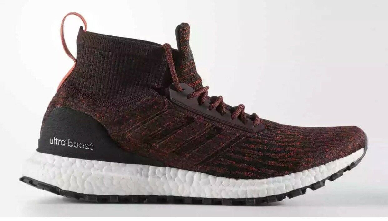 NEW Adidas Ultra Boost 3.0 ATR All Terrain Burgundy Core Black S82035 Size 9.5