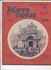 Moto Revue N°420  ; 28 mars  1931  :  les taux de compression des moteurs