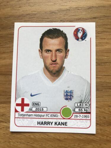 EURO 2016 #148 Comme neuf Harry Kane Rookie Inutilisé Album Autocollant