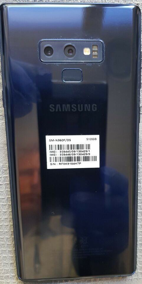 Samsung Note 9, 512 GB , God