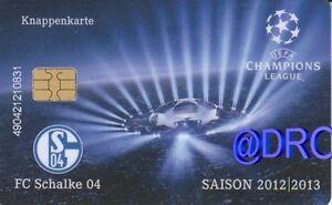 Knappenkarte-FC-Schalke-04-Champions-League-2012-2013-1-Huelle-Restguthaben