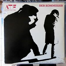 AFTER THE FIRE LP DER KOMMISSAR 1982 SWEDEN VG+/VG++