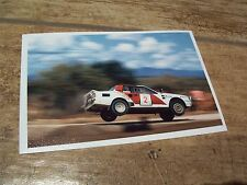 Photo  / Photograph   Bjorn Waldegard TOYOTA Celica Gr B 1986 Safari //