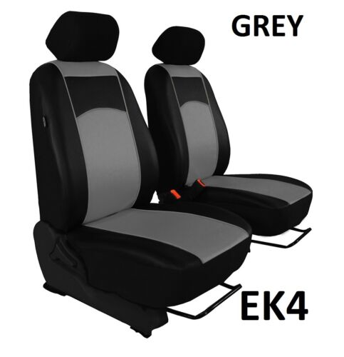VOLKSWAGEN T6 1+1 ARTIFICIAL LEATHER UNIVERSAL FRONT SEAT COVERS