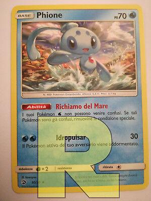 in ITALIANO REVERSE HOLO FOIL TRIONFO DEI DRAGHI 50//70 POKEMON TURTONATOR
