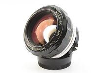 Nikon Nikkor S.C Auto 55mm f/1.2 Non-Ai Fast Prime Lens w/Rear Nikon Cap (V4163)