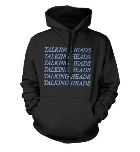 Talking Heads cursiva Unisex Con Capucha Todas Las Tallas