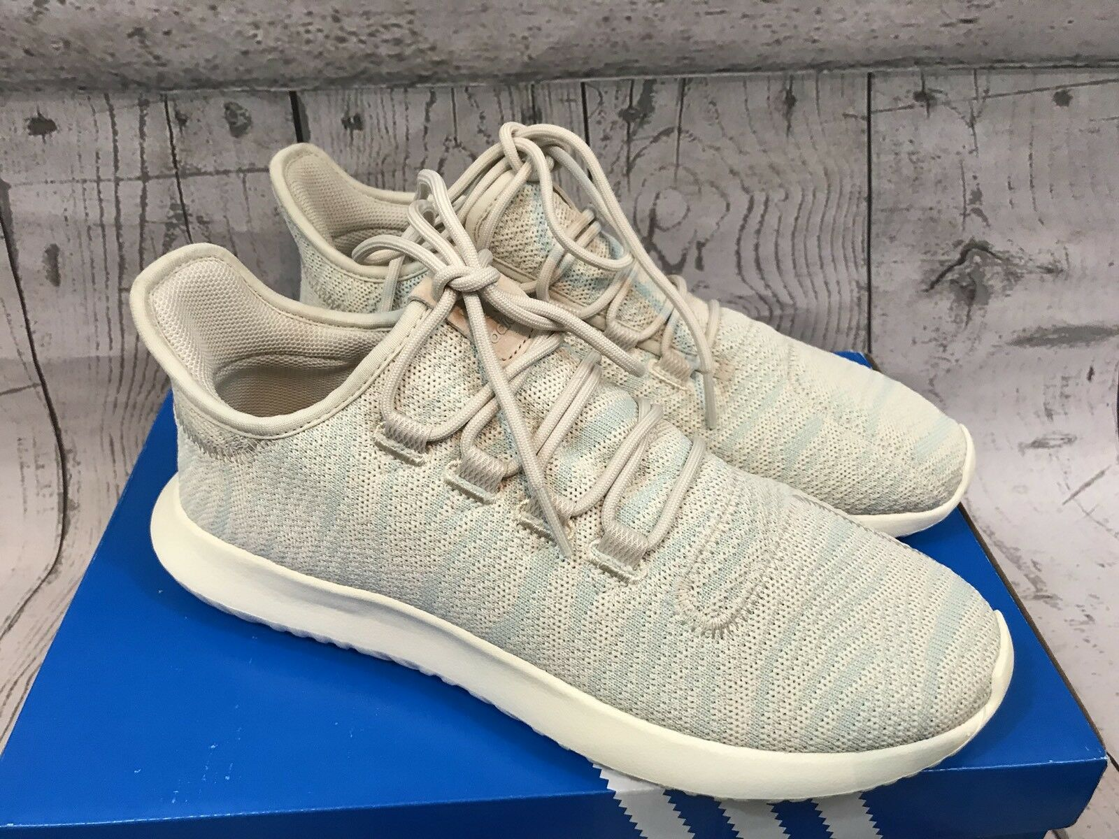 Adidas Originals Shoes Womens Clear Brown Ash Green Tubular Shadow Shoes Originals Size 9 NWT 627055
