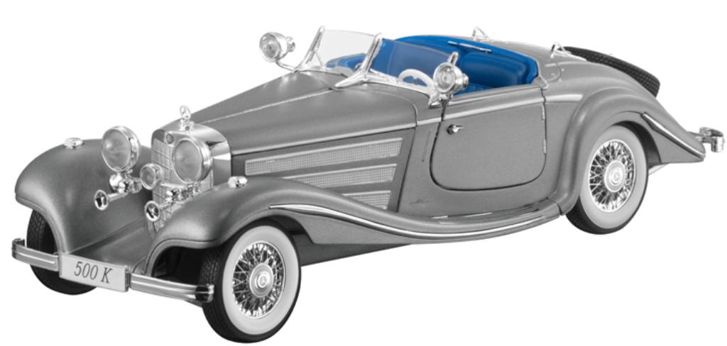 Voiture Miniature 1 18 Mercedes-Benz type 500k Roadster w29