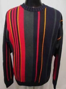 30358f347a4c Image is loading Vintage-Tommy-Hilfiger-90s-Crewneck-Sweater-Color-Block-
