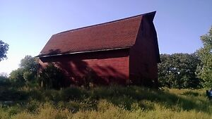 Recliamed Salvaged Red Barn Wood siding