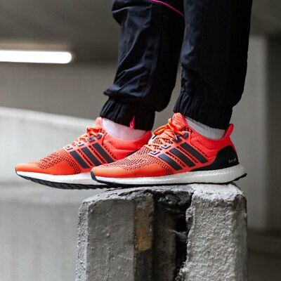 Details about Brand New Mens adidas UltraBoost 1.0 Retro Solar Red 2019 FU6648