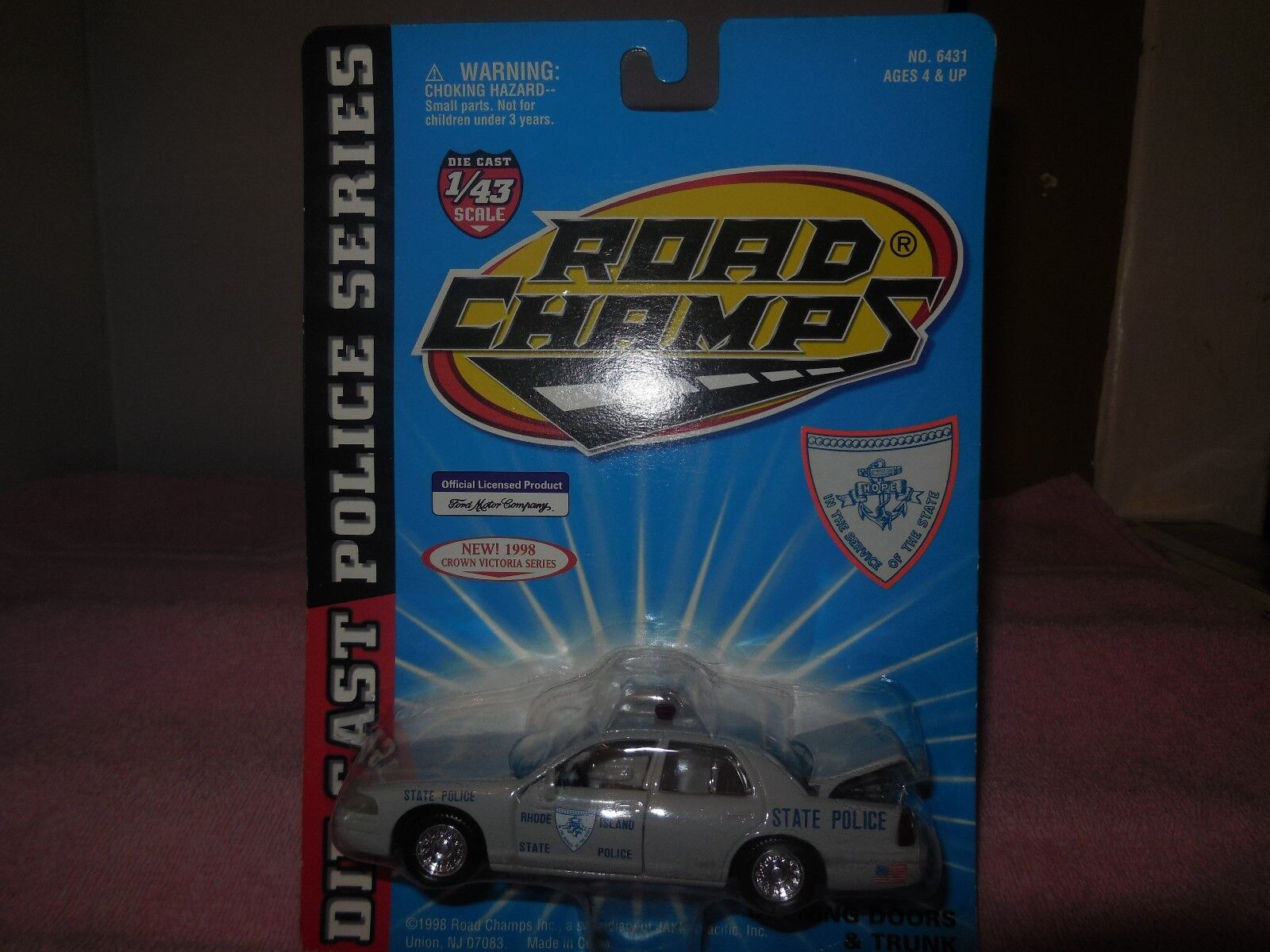 1998 road champs rhode island state police diecast police police police car bd5d42