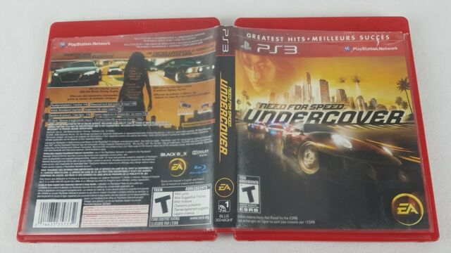 Need for Speed: Undercover (Sony PlayStation 3, 2008) Greatest Hits
