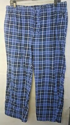 Hanes Men/'s Tagless Sleepwear Solid Knit Pajama Pant 1 Pack Red Size L