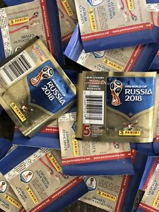 FIFA-WM-2018-Panini-Sticker-USA-Version-2-ppunopened-Packs-5-10-15-20-50