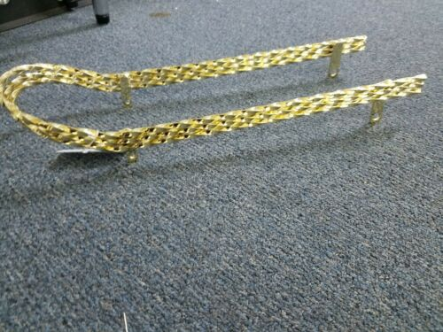 """NEW TRIPLE SQUARE TWISTED GOLD SISSY BAR FOR 20/"""" LOWRIDER BICYCLES"""