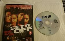 Set It Off [DVD] [1996]  Queen Latifah - Jada Pinkett - UK RELEASE - FREE POST