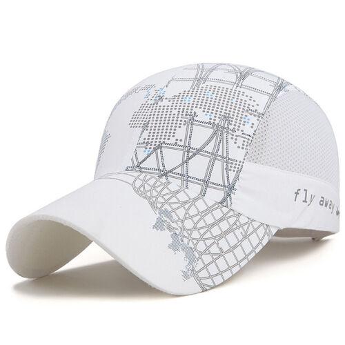 Men Women Quick-drying Baseball Cap Outdoor Lightweight UV Protection Sun Hats