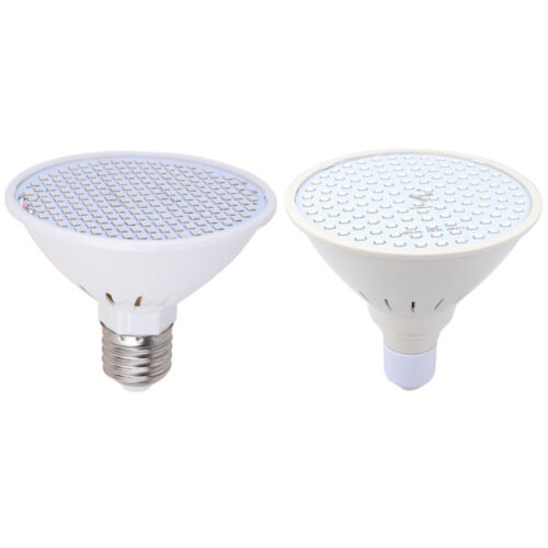 2x LED Pflanzenlampe Wachstumlampe E27 Vollspektrum Grow Lampe Pflanzenlicht