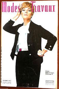 Mode-amp-Travaux-du-11-1967-Page-poupees-Marie-Francoise-et-Bebe-Michel
