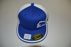 PUMA-TOUR-ISSUE-RICKIE-FOWLER-RICKIEFOWLER-COM-FARMER-039-S-INSURANCE-BLUE-GOLF-HAT