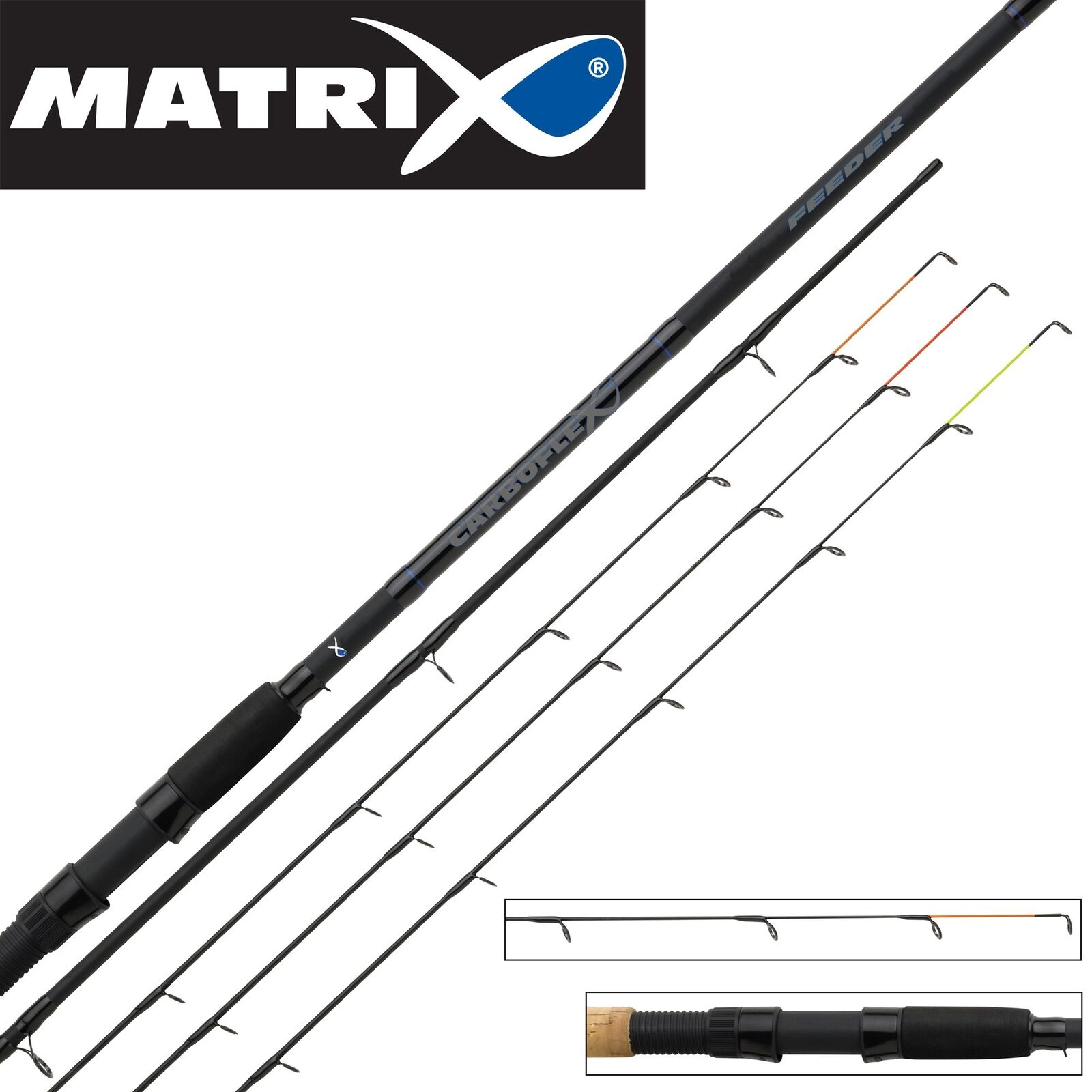 Fox Matrix Carboflex Feeder Rod 3,90m 150g - Feederrute, Angelrute zum Feedern