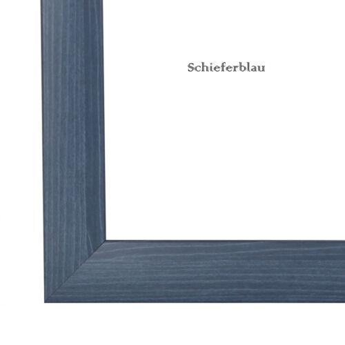 Bilderrahmen CAPRY Anti Reflex 22 Farben ab 31x21 bis 31x31 cm Foto Rahmen Neu