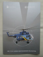 2015 PLAQUETTE RUSSIAN HELICOPTERS ULAN UDE MI-171A1 CARGO PASSENGER HELICOPTER