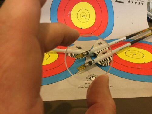 43 mm Montana Black Gold Archery Scope Lens 1-3//4 Optix 300