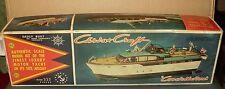 """Vintage Marx Toys 54' Chris-Craft Luxury Motor Yacht Constellation""  Kit w/ Box"