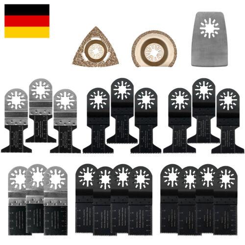 23tlg Oszillierende Sägeblätter Kit Multifunktionswerkzeug Sägeblatt Multitool