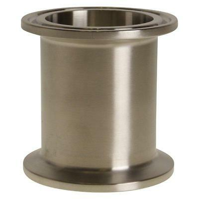 - Stainless Steel SS304 // 3A Glacier Tanks - Tri Clamp 1.5 inch x 3 in Sanitary Spool 2 Pack