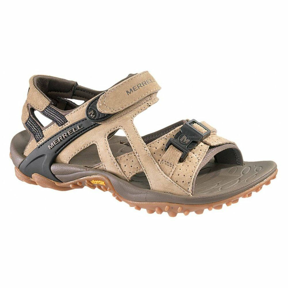 Merrell Kahuna III Clásico Marrón Topo (SC-B4) J88800 Womens Sandals ALL SIZES