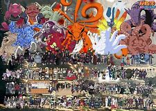 Poster A3 Naruto Shippuden Mundo Completo / Whole World