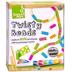 Kinder Kunst Handwerk Set Kurvenreichen Perlen Grafix Science Worx Spaß Activity