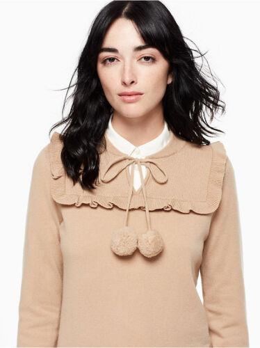 Størrelse Spade 716454228364 Cashmere New Uld York Sweater Kate Pom Lille ZpdfwAp0q
